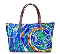 artwork for sale - Fashion style Lady shoulder bags Hot sale D printing handbag Amazing Party bag for cheap