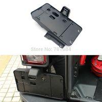 Wholesale Rear License Plate Holder Bracket Black Mount For Jeep Wrangler JK QPA226