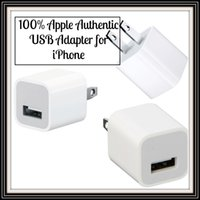 Wholesale New Original Apple iPhone USB Wall Charging Charger Cube Adapter A1385 USB Wall Charging Charger Cube Adapter A1385