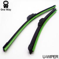 Wholesale Universal U type Soft Frameless Bracketless Rubber Car Windshield Wiper Blade