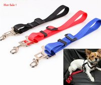 Wholesale 2015 New Fashion Outside Travel Pet Traction Belt Dog Car Seat Belts Goods For Pets