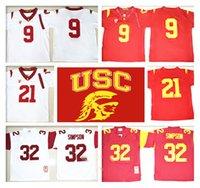 basketball usc - Stitched LIMITED NCAA USC Trojans O J Simpson JuJu Smith Schuster Adoree Jackson College Basketball Jersey Cheap