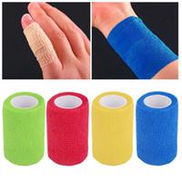 Wholesale Self Adhering Bandage Wraps Elastic Adhesive First Aid Tape4 m x cm