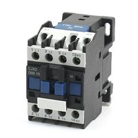 Wholesale CJX2 AC V Coil mm DIN Rail Mounting Electric Power Contactor