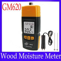 Wholesale Wood moisture meter GM620 with testing probe adjustable for tree species