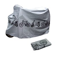bicycle rain cover - 210 Bike Cycle Bicycle Protector Cover Waterproof Dustproof Rain Dust Cover Garage Scooter Motorcycle Cover pc