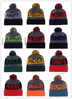 album gold - New Arrival BRONCOS Beanies Hats American Football team Beanies Sports Beanie Knitted Hats Snapbacks Hats album offered