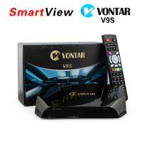 Wholesale Genuine OPENBOX V9S VONTAR V9S DVB S2 HD Satellite Receiver Wifi Build in CCCAMD NEWCAMD Weather Forecast Miracast IPTV BOX in UK Stock