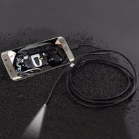 Wholesale Camera Photo Mini Camcorders NEW mm M Focus Camera Lens USB Cable Waterproof LED For Android Endoscope
