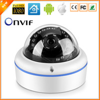 Wholesale Indoor Dome Vandal proof IP Camera CCTV P P P Optional ONVIF Security HI3518E HI3518C Processor Surveillance Camera IP