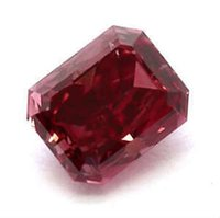 Wholesale 2 CT Emerald Red Fancy Loose Diamond GIA