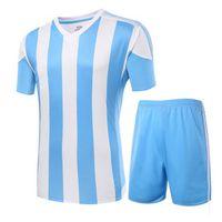 active wear kids - Football Suit Men women kids Soccer Jersey football team summer training wear light board game football uniforms custom clothing printing