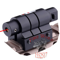 air rifle scope mount - Tactical Mini Red Laser Sight For Rifle Scope Airsoft mm Weaver Picatinny Mount Hunting Scopes Air Soft Tactical