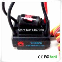 Wholesale 20a Brush ESC for RC CAR HSP Brushed Electric Engine brush Motor Powerful esc brushed