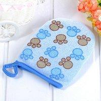 Wholesale Cute Baby Bath Sponge Cartoon Super Soft Cotton Brush Rubbing Towel Ball Colors New Arrival