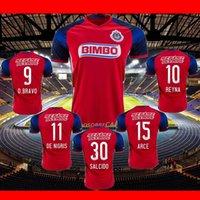 Wholesale Camisas DE futebol Chivas Guadalajara Mexico inicio Camisas BRAVO ARCE DE NIGRIS SALCIDO Monterrey Camisas azul Jersey