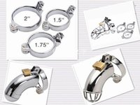 Wholesale Metal penis lock snap ring Cock Ring Part for Cock cage Male Chastity Device Part