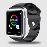Wholesale WristWatch Bluetooth Smart Watch Sport Pedometer With SIM Camera Smartwatch For Android Smartphone Russia T50