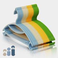 Wholesale 29 cm baby infant children package resin impregnated plastic wire dryer Hanger clotheshorse