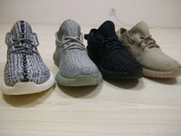 big blue box - Big size Yez Boost EUR US Men Running Shoes Sneakers with Original Box Receipt Kanye West Basketball Shoes