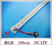 Wholesale SMD RGB LED rigid strip light RGB LED light bar LED cabinet light LED counter light jewelry light cm led