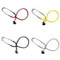 Wholesale High Quality Portable Single Head EMT Clinical Stethoscope Medical Auscultation Device For Nurse Vet Medical Student Hospital