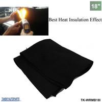 Wholesale Tansky Car quot x18 quot x1 Carbon Fiber Welding Blanket Torch Shield Plumbing Heat Sink Slag Fire Felt TK WRMB18I