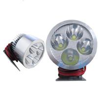 Wholesale 4 LED W autocycle autobike Highlight Motor Motorcycle Bike Spot Light Fog Driving Lamp Headlight K1385
