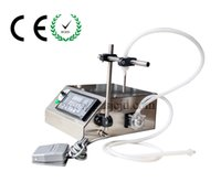Wholesale CE RoHs single nozzle peristaltic pump filling machine GZL e liquid filling machine essential oil perfume filler with shipping free
