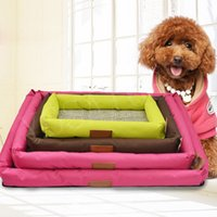 Wholesale Oxford Cloth Pet Dog Bed Hot Summer Cooling Bed Cushion Basket Pad Mat for Pet Dogs Cats Size S M L XL