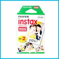 Wholesale 2016 new High quality Fujifilm Instax Mini film for Instant Camera mini S s Polaroid Instant Camera sheets