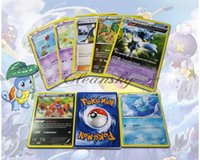 Wholesale 408Pcs Poke Trading Cards Games Newest Edition XY English Anime Pocket Monsters Cards Toys Children Card Toys M110