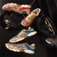 beautiful women sports - Sport Roller casual shoes expecially beautiful colourful stones with lace mesh rubber tread suit for sporting women walking ladies soft wear