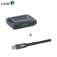 Wholesale Freesat V7 With WIFI DVB S2 HD satellite TV receiver Youtube Power VU CCcam Newcamd Not support IPTV
