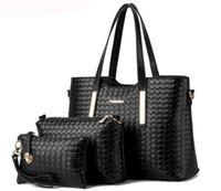 Wholesale Charm in hands new women shoulder bag famous designer luxury brands women bag set good quality medium women handbag set