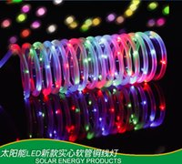 beer net - 12M Outdoor Led Christmas Lights Waterproof Led Solar Neon Flex Rope String Lights Beer Signs Led Decoration Light for Wedding Holiday Party