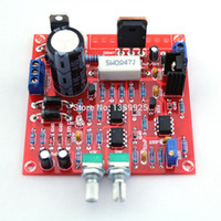 Wholesale NEW Red V mA A Continuously Adjustable DC Regulated Power Supply DIY Kit for school education lab E TN