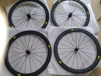 Wholesale carbon road wheels mm wheels width mm powerway r13 carbon clincher C road bike wheels Bicycle wheel carbon wheels