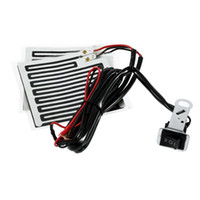 Wholesale 12V Universal Motor Hand heater Motorcycle Heated Grip Kit Pads Handlebar Heater Warm
