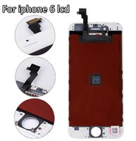 Wholesale For iphone Lcd Screen Digitizer Replacement Display Black and White Color Hot Sale Cellphone Parts