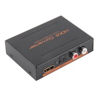 apple optical audio - Audio Extractor Converter HDMI to HDMI Optical SPDIF RCA L R Audio Splitter For Apple TV Various Blu ray Player US Plug