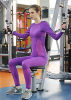 athletic corset - Women Tracksuits outdoor sports ski fitness running Yoga tights Long Sleeve T shirts Leggings Gym Bodybuilding Athletic Corset Tops Pants