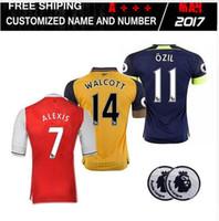 arsenal goalkeepers - DHL Mixed Top Quality Arsenal jerseys Away home RD goalkeeper Jersey WILSHERE OZIL WALCOTT RAMSEY ALEXIS shirt