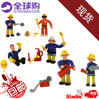 Wholesale New arrival Hot sale Purchasing abroad genuine product Fireman Sam seven latest Doll Set Good playing Good intelligence