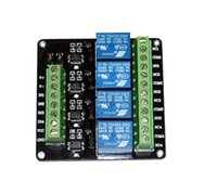 Wholesale DC V Four Channels Relay Breakout with Optoisolator