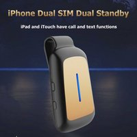 app charger cable - 2016 Mini Dual SIM Bluetooth Adapter Morecard GoodTalk APP PHONE Long Standby Battery for All IOS Device