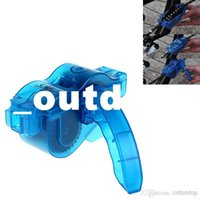 Wholesale Bicycle Mountain Bike Chain Cleaner Tools Flywheel Brush Scrubber Cycling Wash Tool Kits H10286