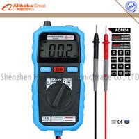 Wholesale Bside ADM04 LCD Digital Multimeter Mini Pocket DMM Voltage Current Meter testeur Diode Tester Multimetro multiteste multimetr