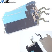 Wholesale For iPhone Plus LCD Plate Metal Backplate Shield Home Button Extend Flex Cable Replacement Repair Parts for iPhone