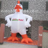 Wholesale inflatable soft carving advertising rooster model site landscape layout props inflatable cartoon products customize inflatable model